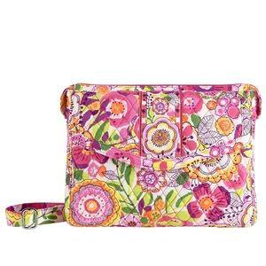 Vera Bradley Tablet Hipster Bag in Clementine